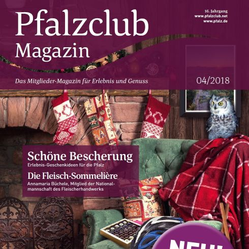 Cover Pfalzclub-Magazin Winter 2018/2019